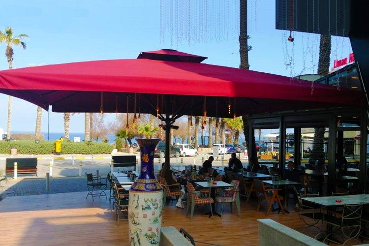 Hellim Cafe&Restaurant / Gizli Kablo Tesisatlı ve Uzaktan Kumandalı