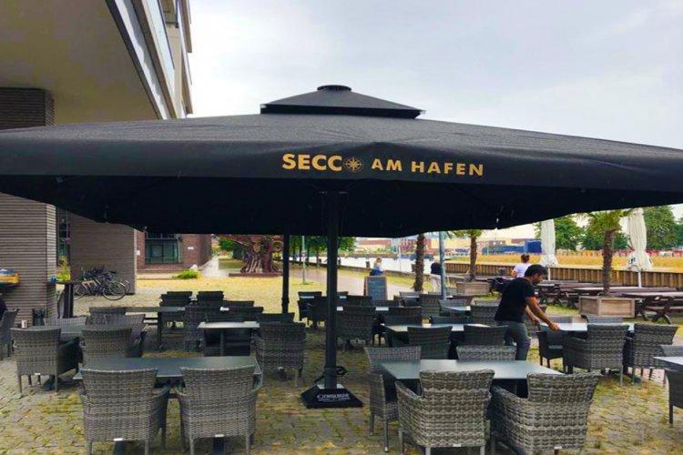 Secco am Hafen / Led Aydınlatmalı-Isıtıcılı